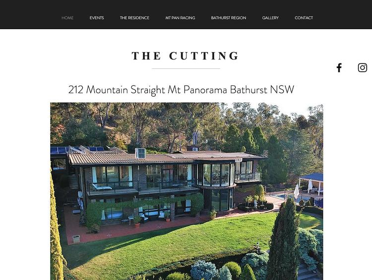 The Cutting Mt Panorama